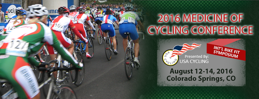SAVE THE DATE: Medicine of Cycling Conference 2013 will be in Colorado Springs on September 20 - 22, 2013