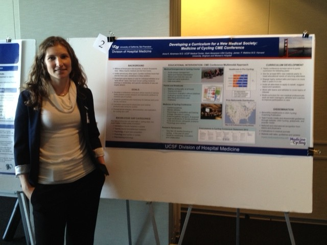 Medicine of Cycling Founders Present Poster at UCSF Education Day 1